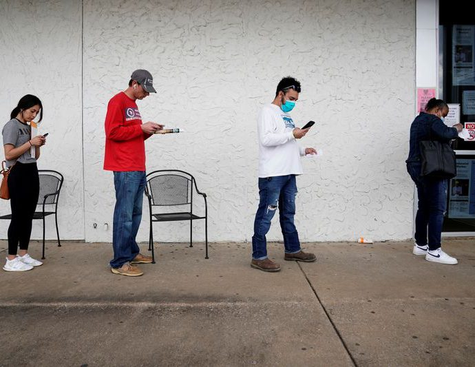 High U.S. unemployment, 2.5 million jobs lost through 2021